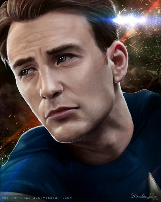Chris Evans par Sheridan-j